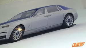 roll royce rolsroy leaked first pictures of the new rolls royce phantom