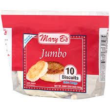 mary b u0027s jumbo biscuits 10 ct bag walmart com