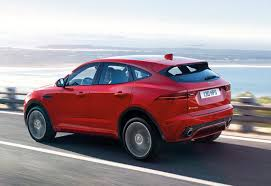 all new 2018 jaguar e pace barrels onto the scene literally