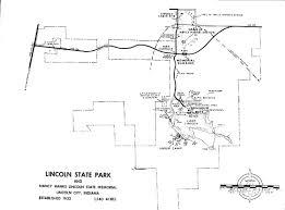 The Warren Floor Plan by Lincoln Boyhood National Memorial Historic Resource Study Table