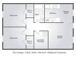 2 bedroom 1 bath floor plans home design floor plans bedroom bath house with garage ranch style