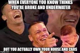 Meme Generator Own Image - john cena laughing meme generator imgflip