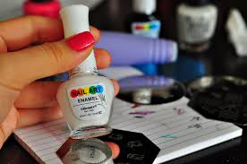 the cheese thief nail art with salon express nail stamping