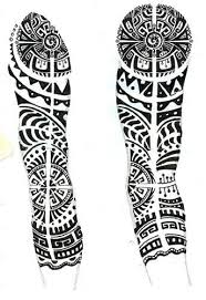 52 great polynesian sleeve tattoo designs make on sleeve golfian com