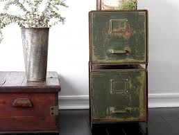Vintage Metal File Cabinet Vintage Metal Storage Cabinet Home Design Ideas