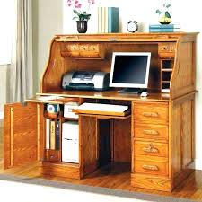 Amish Computer Armoire Unfinished Computer Desk Oak With Hutch Amish Traditional And