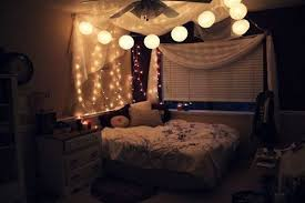 Icicle Lights In Bedroom How To Hang String Lights Over A Bed Canopy Quora