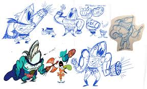 cartoon concept design wander over yonder concept art