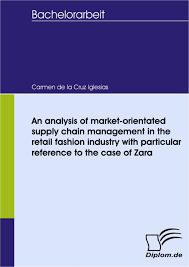 an analysis market orientated supply chain management in