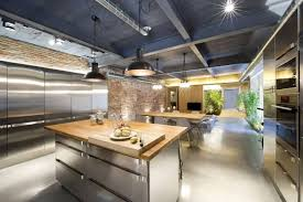 Industrial Style Lighting For A Kitchen Kitchen Industrial Style Kitchens Kitchen Countertop Kitchen