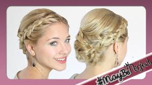 Hochsteckfrisuren Mittellange Haare Einfach by Hochsteckfrisur Für Mittellange Haare Mit Dfashion Maybeperfect