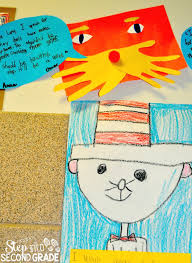 dr seuss ideas step into 2nd grade
