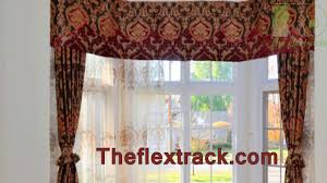 Heavy Duty Flexible Curtain Track by Multipurpose Curtain Track Youtube
