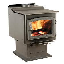 vogelzang ponderosa 3 000 sq ft wood burning stove with blower