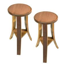 Oak Bistro Table Appealing Vintage Oak Winerel Bistro Table Stools Reclaimed