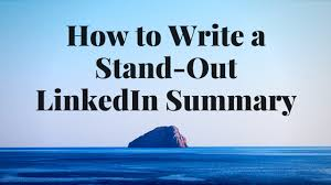linkedin summary best practices how to write a stand out linkedin summary stacey lane career