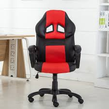 Swivel Desk Chair Without Wheels by High Back Race Car Style Bucket Seat Office Desk Chair Gaming