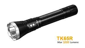 tk65r le torche rechargeable très puissante 3200 lumens