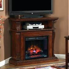Rustic Electric Fireplace Oak Corner Fireplace Entertainment Center Gas Custom Wall Unit