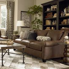 Great Room Furniture Casual Leather Great Room Sofa