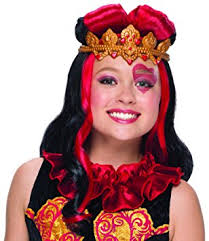 Halloween Costume Rubie U0027s Costume Lizzie Hearts Child Wig Amazon