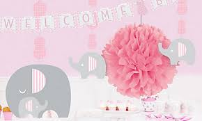 baby shower for girl baby shower decorations for party city