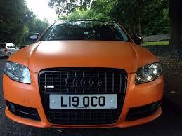 audi a4 matte black audi a4 s line tdi 1 9 diesel matte orange 3500 in allerton