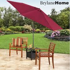 Wind Resistant Patio Umbrella Patio Furniture Tan Cantilevertio Umbrella With Black Stand For