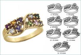 7 mothers ring v 6 to 12 stones s ring