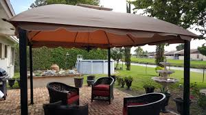 Patio Gazebo Replacement Covers by Replacement Canopy For South Hampton Gazebo Riplock 500 Garden Winds