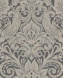 laurence llewelyn bowen cotswold dark grey u0026 gold wallpaper
