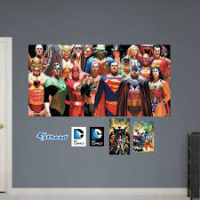 18 dc comics wall decals dc comics villains mural wall decal shop dc comics wall decals