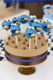 pastel de el monstruo come galletas cupcakes pinterest