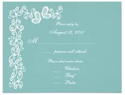 Wedding Invitations With Pictures Wedding Invitation With The Menu Option Everafterguide