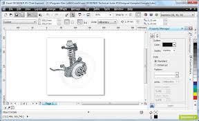 corel designer technical suite galeria zdjęć zrzuty ekranu screenshoty corel designer
