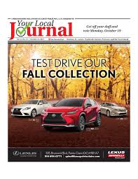 lexus vehicle delivery specialist salary ylj october 15 2015 west island by your local journal issuu