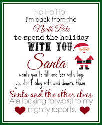charity donation letter template free print this elf returns letter with instructions to donate toys