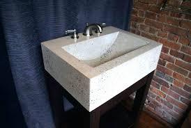 Concrete Vanity Vanities Concrete Bathroom Sink Countertop Diy Concrete Vanity