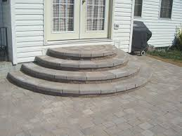 Concrete Patio Pavers Slate Patio Pavers Awesome Concrete Patio Stair Design And Layout