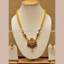 jewelry designs necklace sets images Designer necklace set with temple jewellery and god figure buy jpg