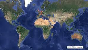 live global map pse alumni world map see where fellow alumni live pse alumni