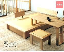 Tatami Platform Bed Frame Tatami Platform Bed Ideawall Co