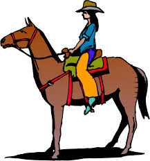 horse clipart person pencil and in color horse clipart person