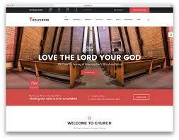 30 best wordpress church themes 2017 colorlib