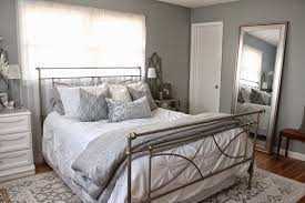 Blue And Gray Bedroom by 12th And White How To Choose Gray Paint Colors