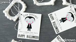 Razor Blades In Halloween Candy Article by Skip Candy Without Being A Buzzkill With An Adorable Halloween
