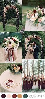 wedding colors wedding trends 10 fantastic burgundy color combos for 2017