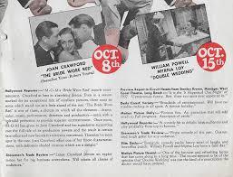 Newspaper Wedding Program Double Wedding 1937
