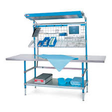 packing table with shelves packing table all medical device manufacturers