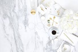 luxury styled stock white on marble collection sc stockshop